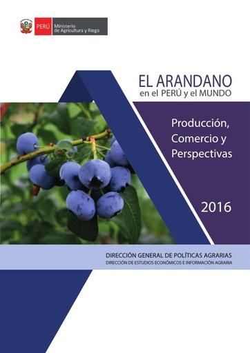 El Arándano en el Perú y el Mundo