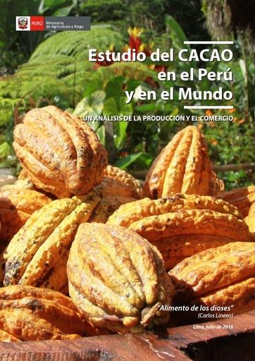 Estudio del CACAO en el Perú y en el Mundo