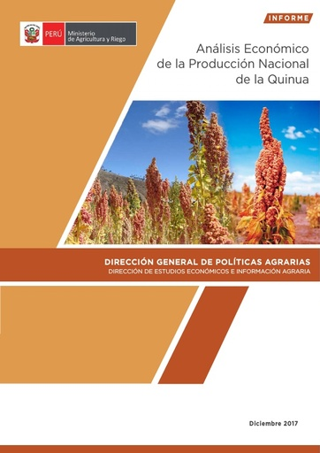 Análisis Económico de la Producción Nacional de la Quinua