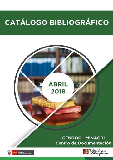 Catálogo Abril 2018