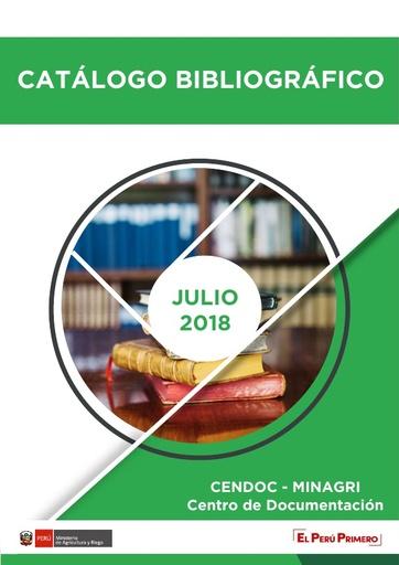 Catálogo Julio 2018