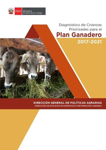 Diagnóstico de Crianzas Priorizadas para el Plan Ganadero 2017 - 2021